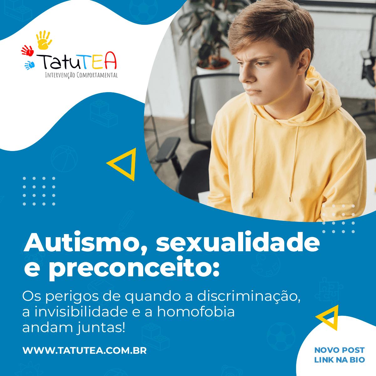 Autismo e Homossexualidade - TatuTEA - Espaço Especializado em ABA no Tatuapé